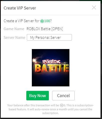 How Do I Purchase And Configure Vip Servers Roblox Support - roblox id codes help me help you