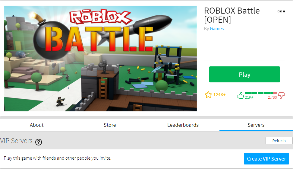 How Do I Purchase And Configure Vip Servers Roblox Support