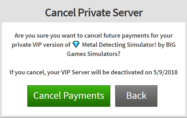 How do I Purchase and Configure VIP Servers? – Roblox Support