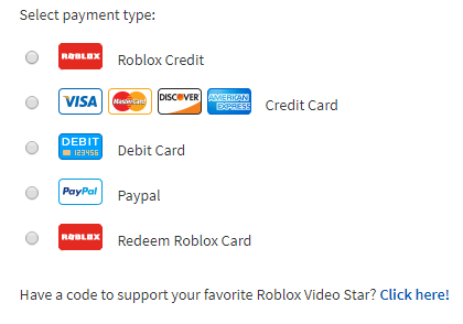 Using Game Card Credit Roblox Support