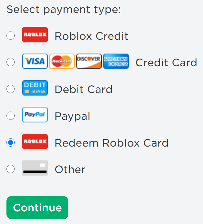 How to Redeem Gift Cards Roblox Support