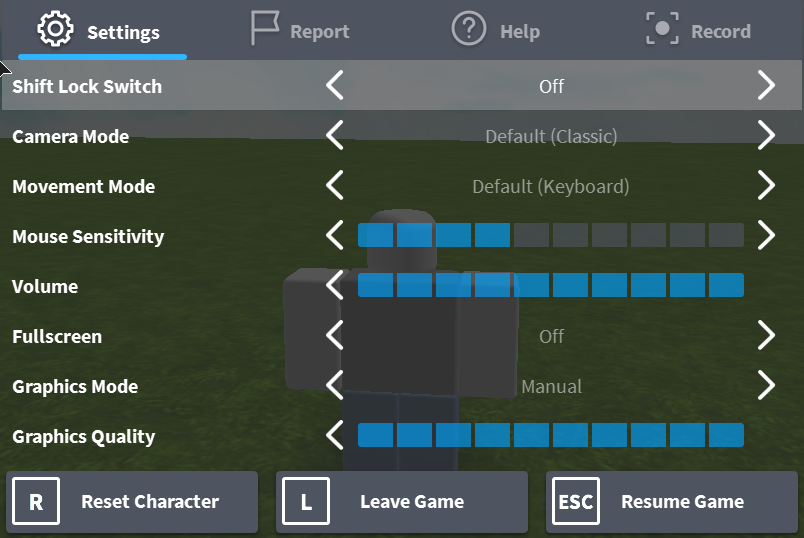 How To Reset Avatar In Game Roblox Support